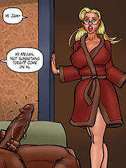 I think white's sexier - Lesson from the neighbor, The third lesson by Kaos comics