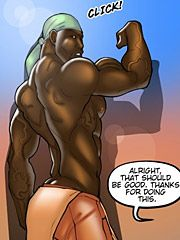Thanks babe, there's no one around - The wife and the black gardeners 2  by Kaos comics