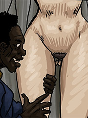 Finger inside of her with out her husband knowing - A Favor for the Homeless by Illustrated interracial
